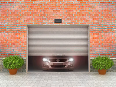 Garage doors car