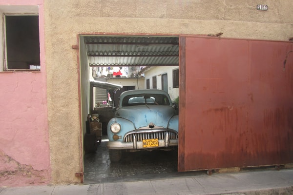 History of garage doors